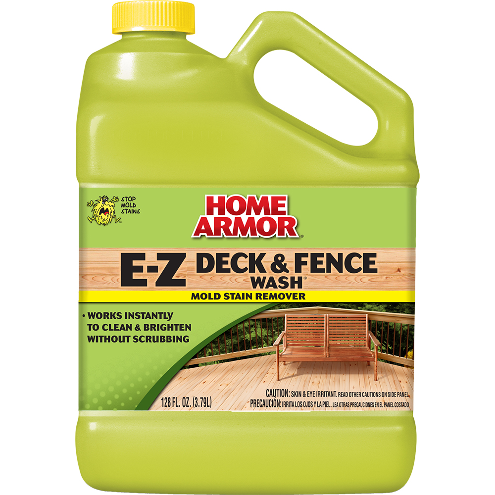 Home armor e z deck fence wash gallon for E home products