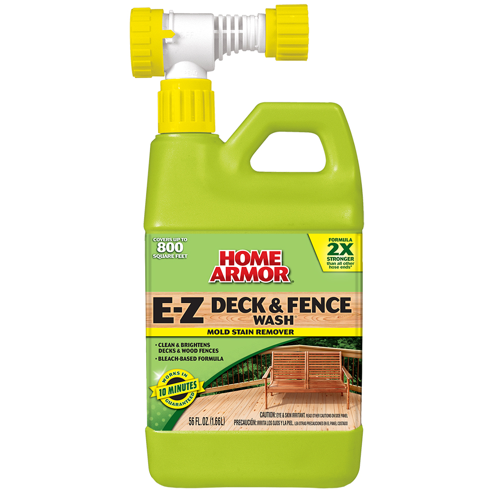 Home armor e z deck fence wash hose end for E home products